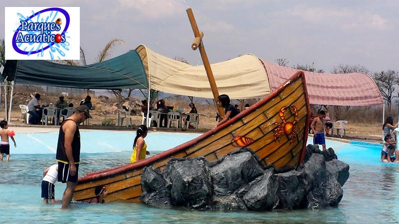Parques acuaticos toboganes hongo acuatico for Albercas desarmables
